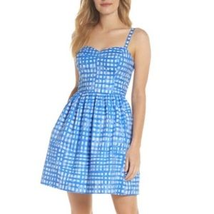 Lilly Pulitzer Ardleigh Dress blue/white check